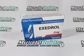 Exedrol 25mg 60 tabs