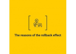 The reasons of the rollback effect after the cycle